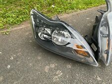 FORD FOCUS MK2 FACELIFT BLACK HEADLIGHT DRIVER SIDE 8M51-13W029-DE 2008 - 2011