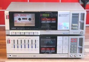 Aiwa RX-30 Receiver/Amplifier + FX-30 Cassette Deck Combo