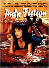 PULP FICTION Affiche Cinéma ROULEE 60x40 Movie Poster QUENTIN TARANTINO Repro
