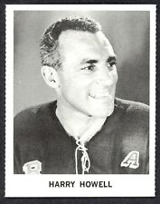 1965 COCA-COLA COKE HARRY HOWELL NM N Y RANGERS  HOCKEY CARD