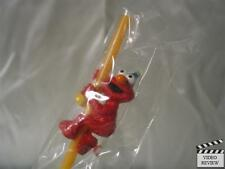 Elmo - Sesame Street Color Changing Sipper Straw; Applause NEW