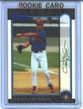 Carlos Pena 1999 99 Bowman Rookie Card