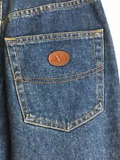 women jeans Valentino vintage high-waisted banana 27 size blue