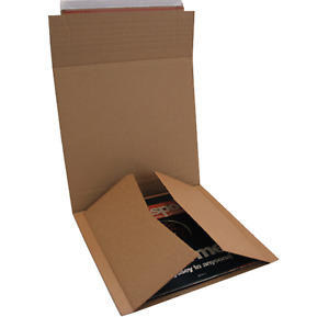 SIZE C AMAZON STYLE B2 EXTRA STRONG MULTI DEPTH RECORD LP LASERDISC BOOK MAILERS