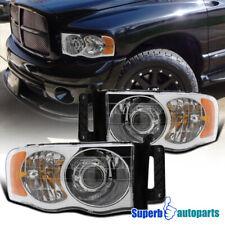 For 2002-2005 Dodge Ram 1500/Ram 2003-2005 2500/3500 Projector Headlights