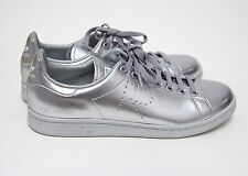 "ADIDAS - Raf Simons ""Stan Smith"" Silver Metallic Sneakers Size 11 ~~ Ltd Edition"