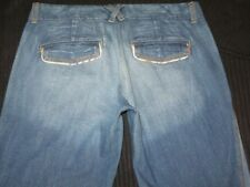Meli Melo Jeans Full Leg Flare Soft & Light USA made Sz 27 Fit Like Sz 28 / 29