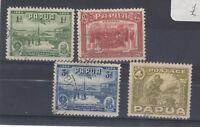 Papua 1934 Declaration Set SG146/149 VFU J3072