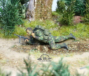 US Marine Recon soldier Vietnam war 1:35 Pro Built Model #2