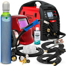 MIG WELDING SET Welder Inverter machine Automatic settings 200A IDEAL MIG 205