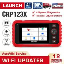 2020 New LAUNCH X431 CRP123X OBD2 Car Scanner Diagnostic Tool 4 Systems As 123E