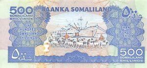 Somaliland  500/-   2008  P 6g  Series  GF  Uncirculated Banknote E29