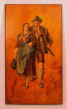 Altes Gemälde Bozen Südtirol Alto Adige von 1902
