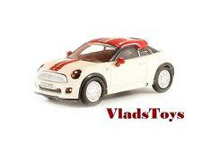 Oxford Auto Die-cast 1/76 Mini Coupe - Pepper White & Chili 76MC001