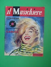 MARILYN MONROE RARE COVER MAGAZINE April 1959 Gassman Pat Boone Louis Armstrong