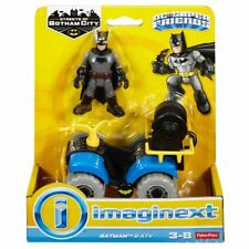 Imaginext DC Super Friends STRADE DI GOTHAM CITY BATMAN e ATV