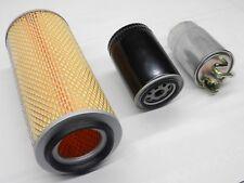 Luftfilter Ölfilter Krafstofffilter Set für VW T3 Bus Kasten 1,6 TD JX bis 07.89