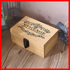 French Provincial Vintage Storage Jewellery Timber Wooden Decorative Box A12O