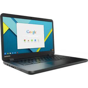 Lenovo Chromebook N42-20 80US 14 Inch 16GB Storage 4GB RAM 80US0000US - Black