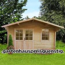 Agande Gartenhaus Blockhaus Gerätehaus 390x298,40 mm, mit ISO Verglasung, 403916