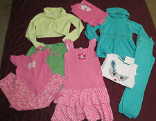 Gymboree clothing lot from several lines dress tops hoodie pants size 10-12