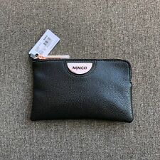 MIMCO ECHO BLACK ROSE GOLD SMALL POUCH LEATHER • AUTHENTIC RRP $79.95