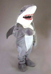 Shark cartoon mascot costume High quality party adult size Party Dress Christmas