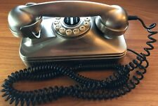 Grand Wall Phone Retro Pottery Barn Silver Clean Old Fashioned Look Push Button