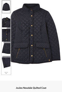 Joules Newdale Quilted Coat - NWOT - Navy - UK20 - Stunning Quality 😍 Wmns
