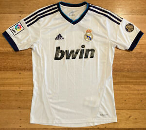 Real Madrid FC 2012-13 Home Kit Jersey Shirt with 110 Anos Patch 1902-2012 - XL