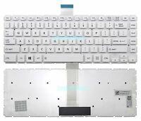 New White Toshiba Satellite L45-B L45D-B L45DT-B L45T-B Keyboard US