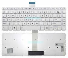 New White Toshiba Satellite L45-B L45D-B L45DT-B L45T-B Keyboard US