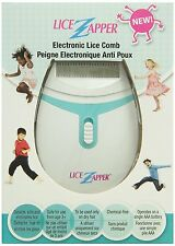 Lice Zapper Electronic Louse Hair Comb Kills Nits & Eggs Battery Operated NEW
