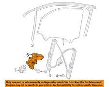 VW VOLKSWAGEN OEM 16-17 Golf Front Door-Window Motor 5Q4959802B
