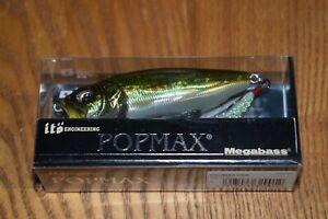 Megabass Ito Pop Max Topwater Fishing Lure 1/2oz. (GG Bass) NIP