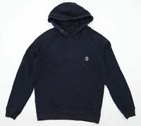 Jog On Mens Size S Cotton Black Hoodie