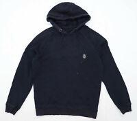 Jog On Mens Size S Cotton Black Hoodie