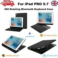 360° Rotating Wireless Keyboard Protective Case Cover for iPad PRO 2016 9.7
