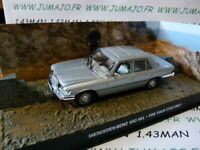 JB120E voiture 1/43 IXO 007 JAMES BOND Mercedes Benz 450 SEL For your eyes only