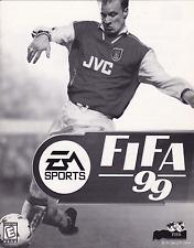 FIFA 99 (EA Sports) Soccer: CD & Manual; 250 Teams! MS Windows, play tested!