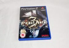 PROJECT ZERO 3 The Tormented  (PlayStation 2 2006) European Version PAL