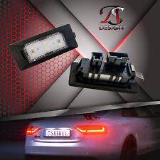 Premium LED Kennzeichenbeleuchtung Audi A5 S5 8T Xenon Weiss