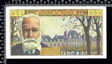 France / 5 nouveaux francs 1962 / Victor Hugo / Sup / N° F.89-72120