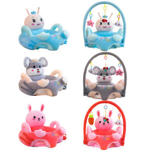 Cartoon Baby Plush Chair Sofa Infant Learning Sit Chair Baby Support Seat R1BO