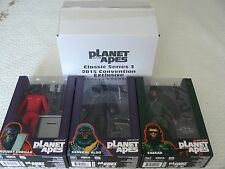"NECA PLANET OF THE APES SERIE 3  7 "" CONVENCION EXCLUSIVA 2015 EEUU"