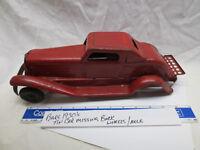 VINTAGE ANTIQUE 1920'S 1930'S  MARX SIREN FIRE CHIEF CAR STEEL TIN