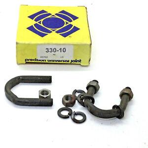 Precision 330-10 Universal Joint U-Bolt Kit Fits U-Joints 330/331/427 See Below