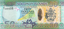 Solomon Islands 50 Dollars 2014 Unc pn New