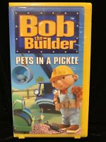 Bob the Builder - Pets In A Pickle  Nick Jr. (VHS, 2001) Original