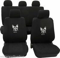 VW Bora ab 1998-2005 Schonbezüge Sitzbezüge French Bulldog